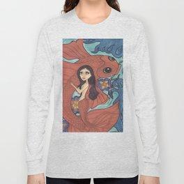 Mermaid, Dive Buddy Long Sleeve T-shirt