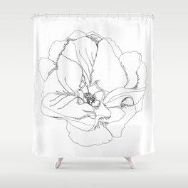 petal pup Shower Curtain
