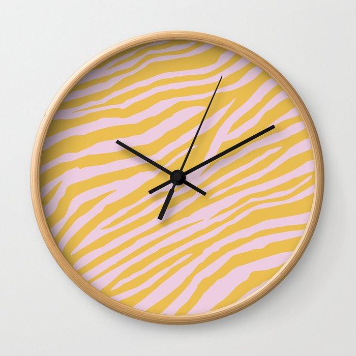 Wild Pattern Wall Clock