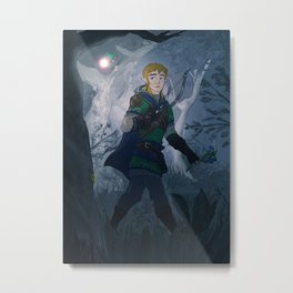 Link with Fairy Metal Print