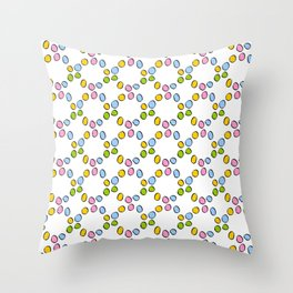 Circle and abstraction 3-,abstract,geometric,geometrical,circle,sphere Throw Pillow