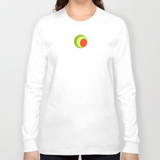 Green Olives and Pimentos  Long Sleeve T-shirt