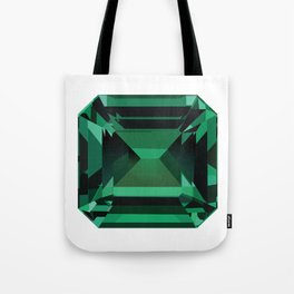 Emerald Gem Tote Bag