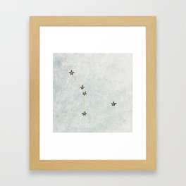 Cancer x Astrology x Zodiac Framed Art Print