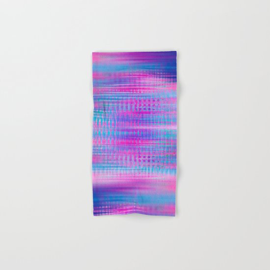 Distorted signal 02 Hand & Bath Towel