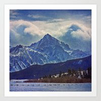 Mt. Snuffles #1 Art Print
