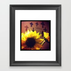 With God all things are possible  Framed Art Print
