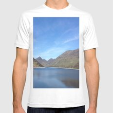 Silent Valley MEDIUM Mens Fitted Tee White