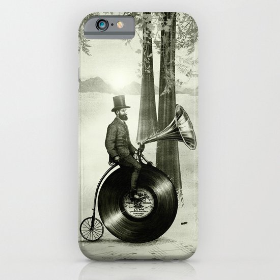 Music Man in the Forest, by Eric Fan and Viviana González iPhone & iPod Case