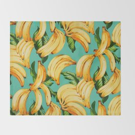 If you like fruit, eat it all Throw Blanket