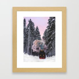 How fast can you pack? Framed Art Print