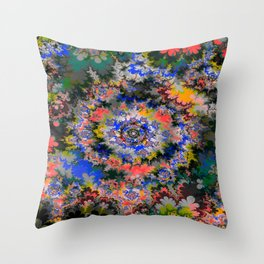 fire gate III Throw Pillow