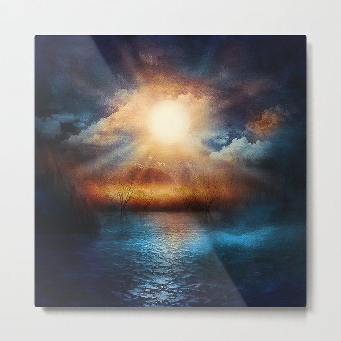 When the sun speaks Metal Print