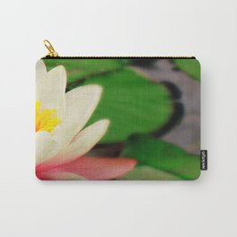 White water flower Carry-All Pouch
