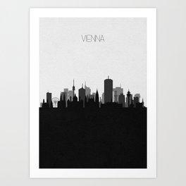 City Skylines: Vienna Art Print