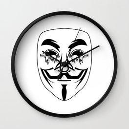 Vigilance Wall Clock
