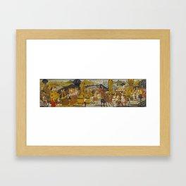 Bernardo Rosselli - The Triumph of Alexander Framed Art Print
