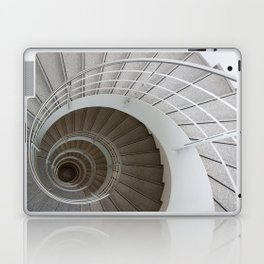 the spiral (architecture) Laptop & iPad Skin