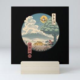 Neighbor's Ukiyo e Mini Art Print