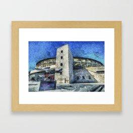 Besiktas Stadium Art Framed Art Print