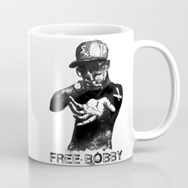 Free Bobby Shmurda Lithograph Coffee Mug