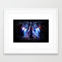 castlevania Framed Art Prints featuring Castlevania: Vampire Variations- Dracula by LightningArts