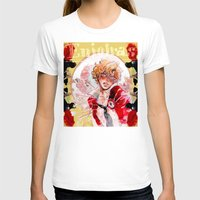 les miserables T-shirts featuring les miseràbles: st. enjolras by Daniela Viçoso