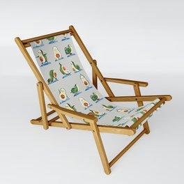 Avocado Yoga Watercolor Sling Chair