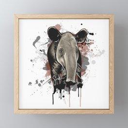 Baird's Tapir Framed Mini Art Print