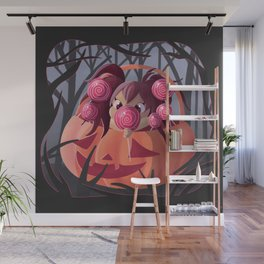 Halloween Candy Wall Mural
