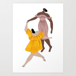 Apiece Apart Dance Art Print