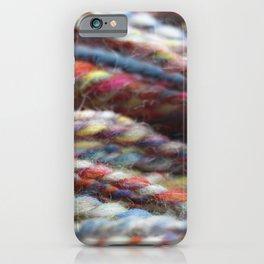 Handspun Yarn / Lots of colors iPhone Case