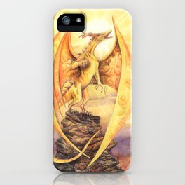 Celestial Dragons - The Sun iPhone Case
