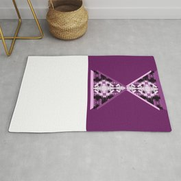 Blank chairs under the doorknobs No4 Rug