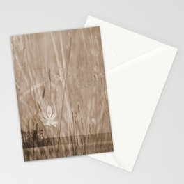 Landscape behind the dike Stationery Cards