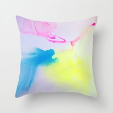 Washes IV Throw Pillow