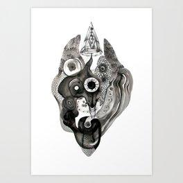 Black Magic Art Print
