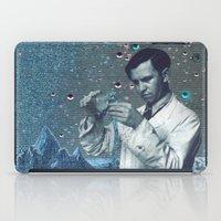 fullmetal alchemist iPad Cases featuring THE ALCHEMIST by Julia Lillard Art