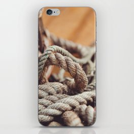 Tangled & Worn iPhone Skin