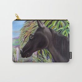A Horse Named Dallas Carry-All Pouch