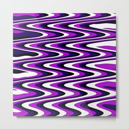 Purple slur Metal Print