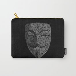 ...You May Call Me 'V' – So who's Anonymous? Carry-All Pouch