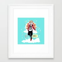 shinee Framed Art Prints featuring SHINEE KEY by Haneul Home