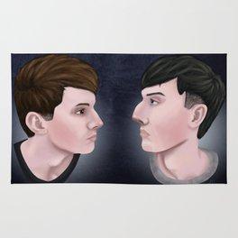 Dan and Phil Rug