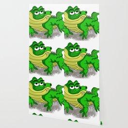 Crocodile smiling Wallpaper