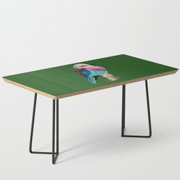 Lilac Breasted Roller Bird Coffee Table