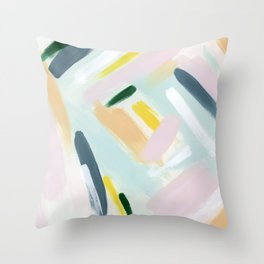 Color Crush Throw Pillow