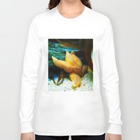 starfish Long Sleeve T-shirts featuring Starfish  by GardenGnomePhotography