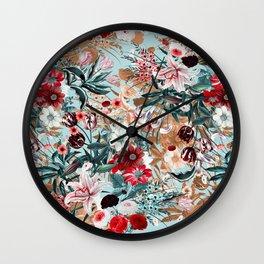 Summer Botanical Garden XIII Wall Clock