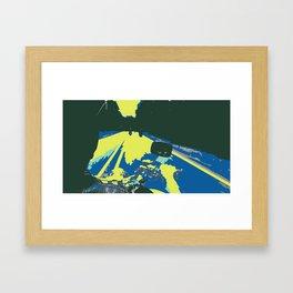 Motorcycle POP-1 Framed Art Print